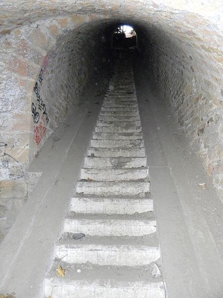 Escalier Fort de Loyasse