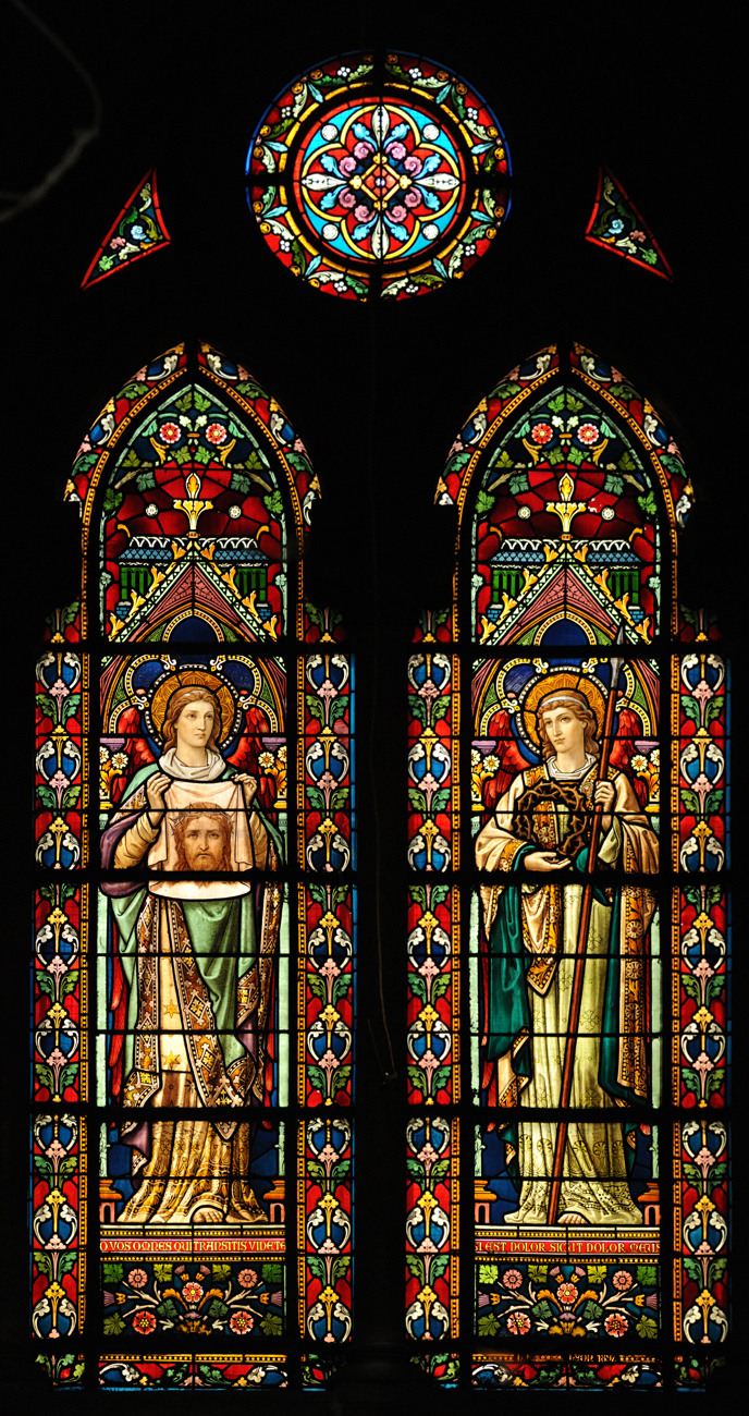 Vitraux Église Saint Bernard