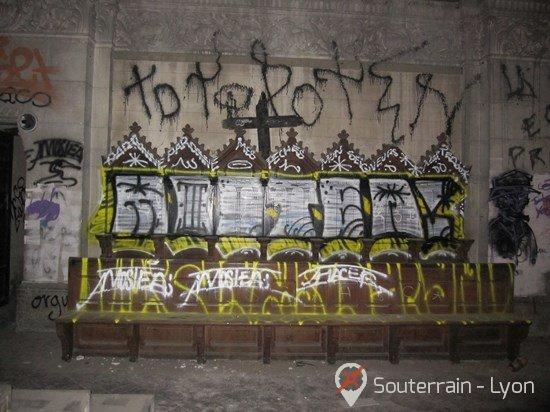 Église abandonnée lyon Bon Pasteur