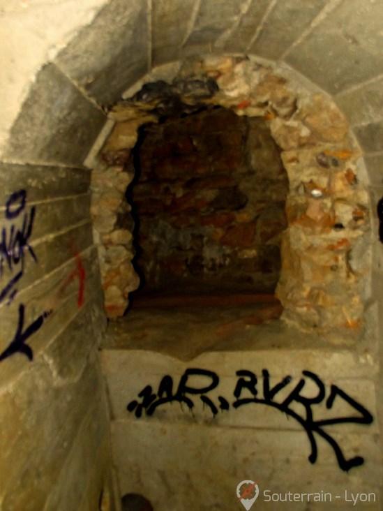 Souterrains de Lyon galerie drainante