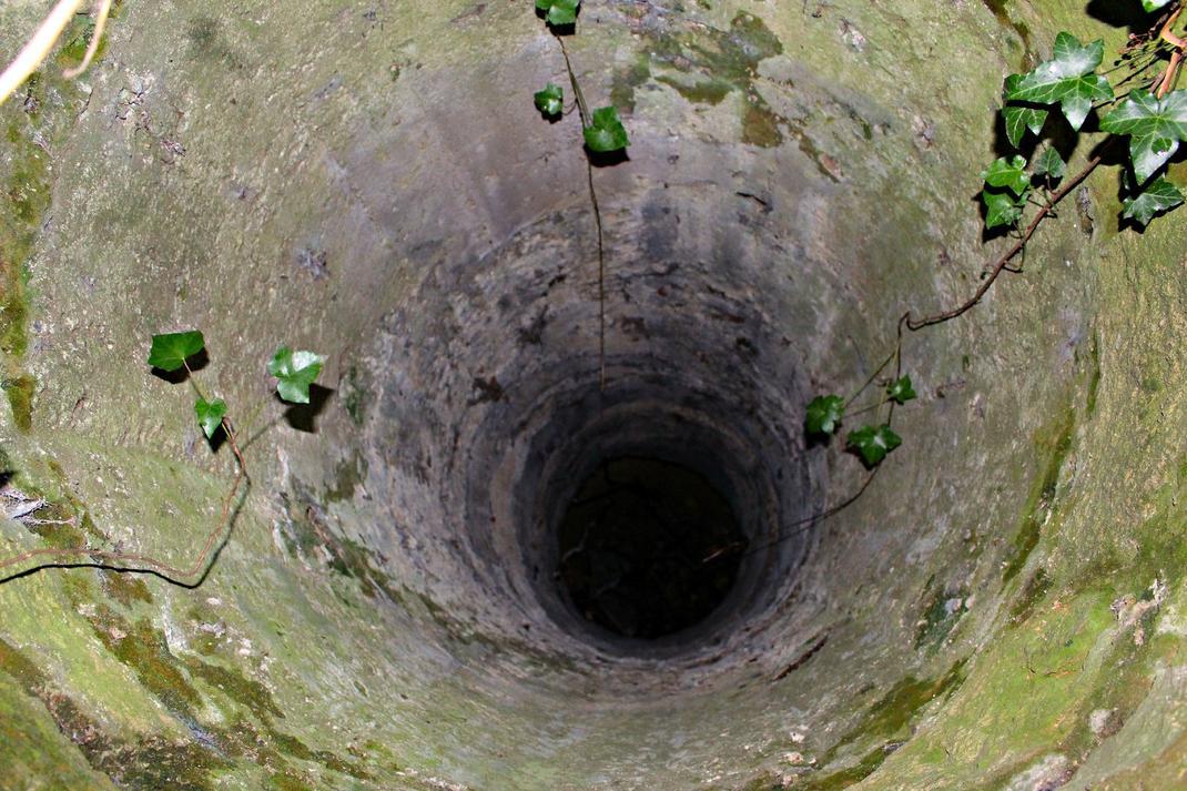 fontaine abandonné