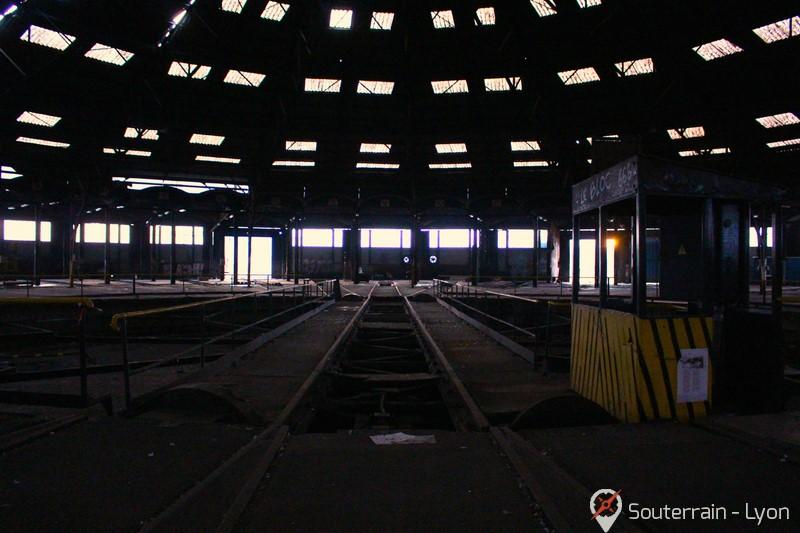 rotonde abandonnée