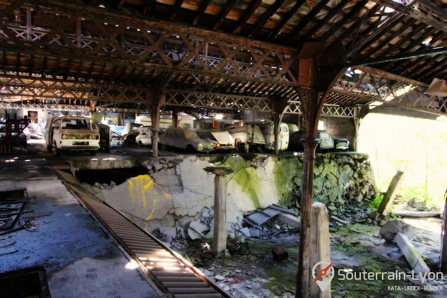 Garage des ann es 70 urbex rurbex souterrains de lyon for Garage ouvert le samedi lyon