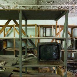 Magasins Pripyat après la catastrophe