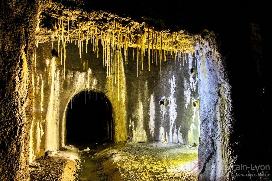 souterrain Trident Urbex Rhône