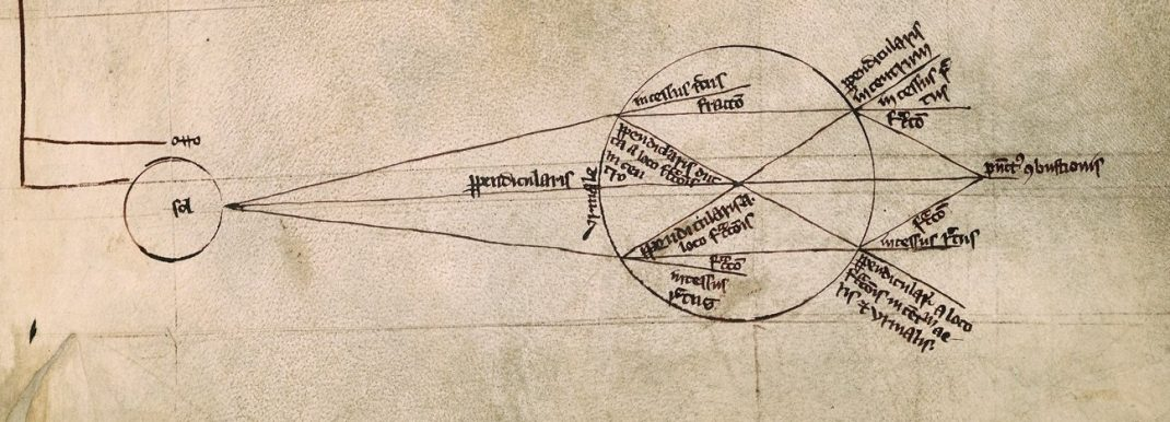 Souterrain des Arêtes de Poisson Roger Bacon lentilles sphériques