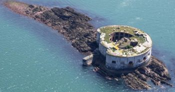 Stack Rock Fort lieu abandonné