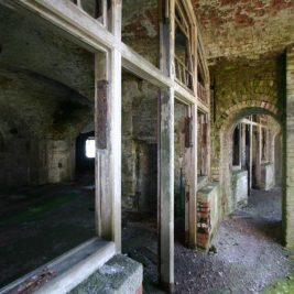 Stack Rock Fort lieu abandonné 13