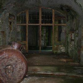 Stack Rock Fort lieu abandonné 15