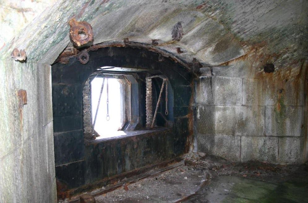 Stack Rock Fort lieu abandonné 4