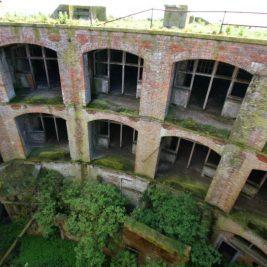 Stack Rock Fort lieu abandonné 6