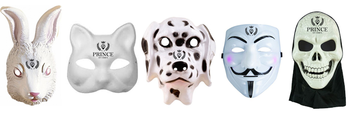 masques urbex