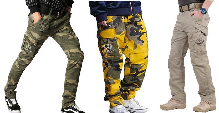 pantalons cargo urbex Prince of Urbex