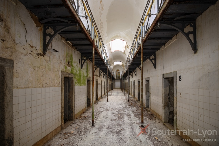 La prison politique urbex 8