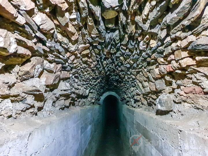le souterrain Cloaca Exploration égout romain Lyon 1