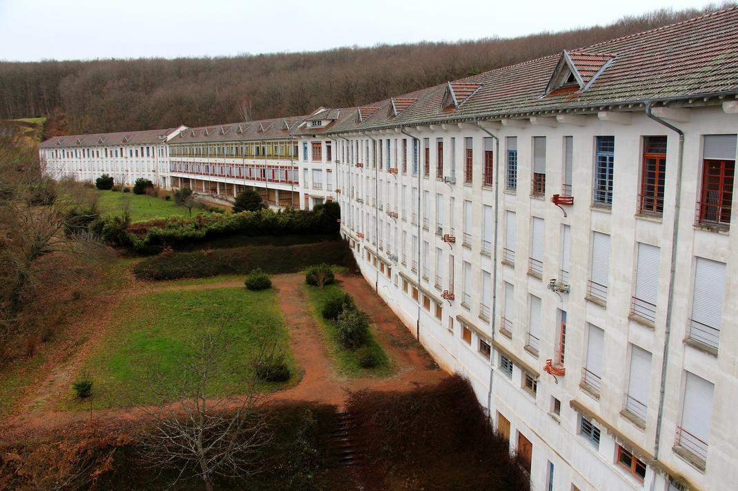 sanatorium abandonné