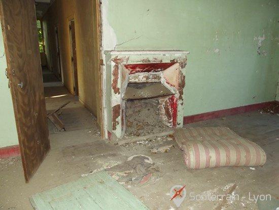 couvent abandonné
