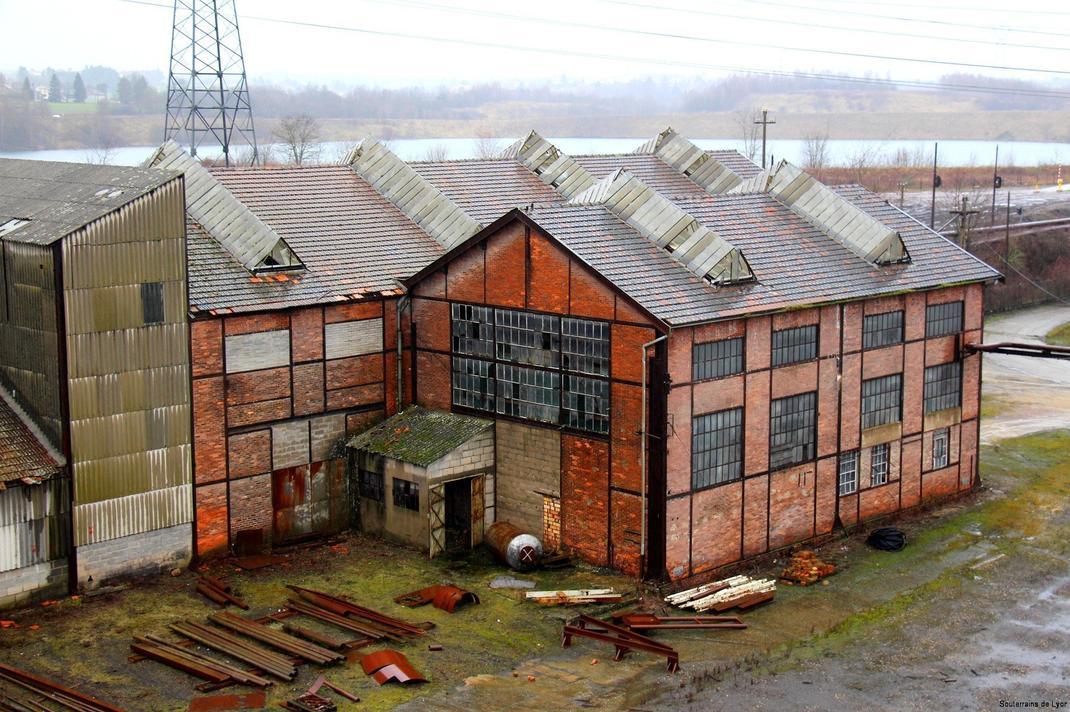 centrale éléctrique abandonnée