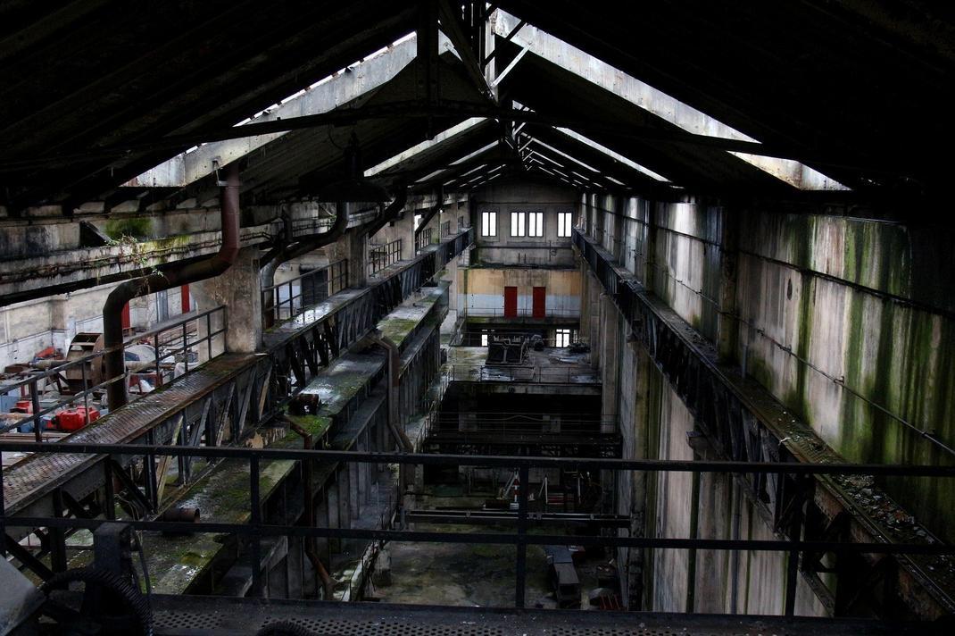 centrale abandonnée