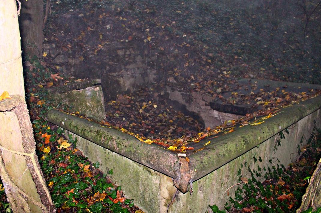 fontaine abandonnée