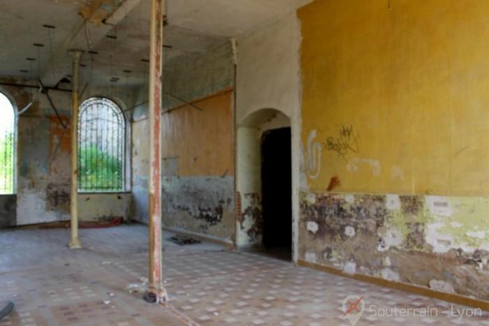 colonie pénitentiaire abandonnée Saconnins