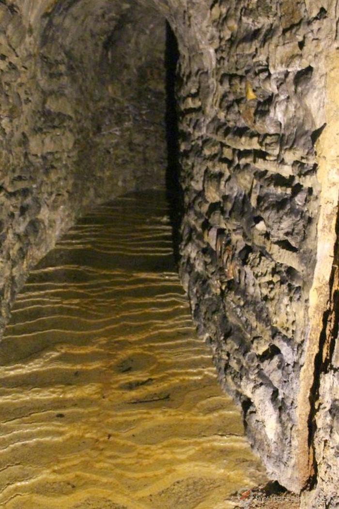 souterrain du parc