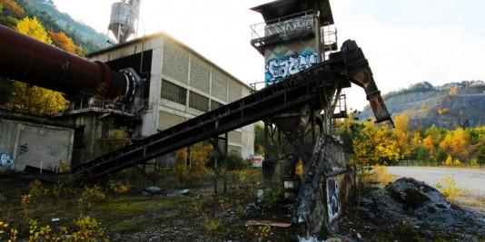 cimenterie abandonnée M.
