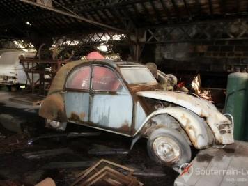 garage des années 70