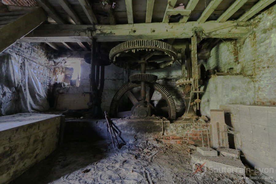 Old Mill Urbex Maison Moulin Abandonné