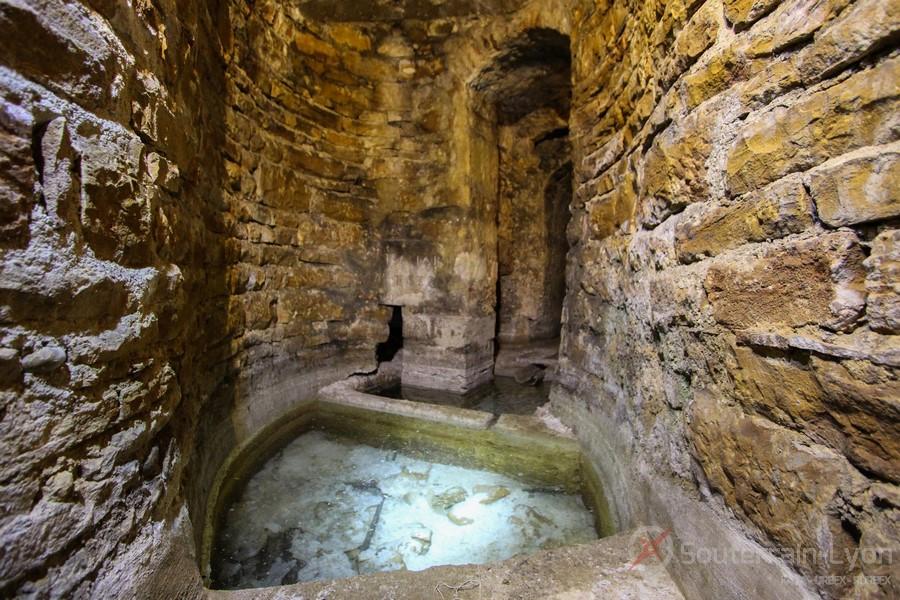 Les souterrains du château