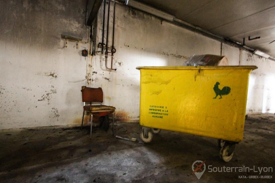 abattoir abandonné Chicken urbex
