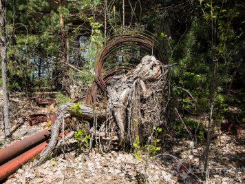 Café Pripyat après la catastrophe