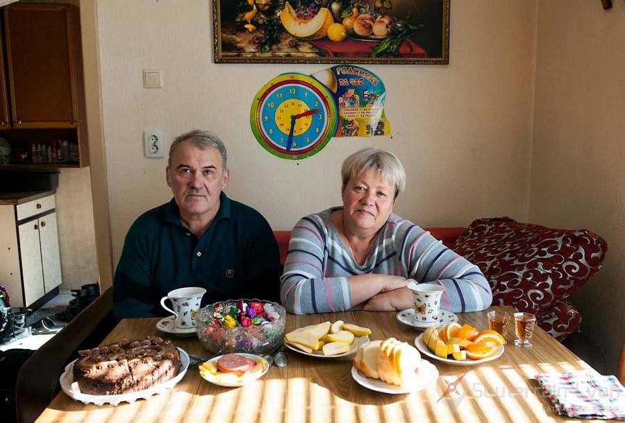 Visite de Pripyat avec Sergei et Alexandra Shedrakov