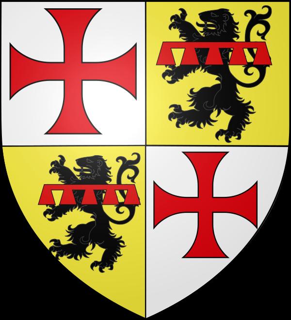 Souterrain des Arêtes de Poisson Armoiries Guillaume de Beaujeu
