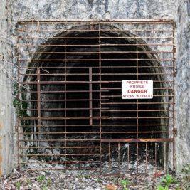 Carrière carrière de ciment abandonnée