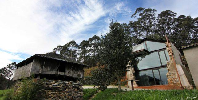 Restauration de ruines Casa Sabugo par Tagarro de Miguel Arquitectos