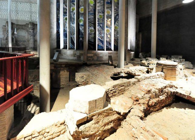 Restauration de ruines Musée Kolumba à Cologne par Peter Zumthor