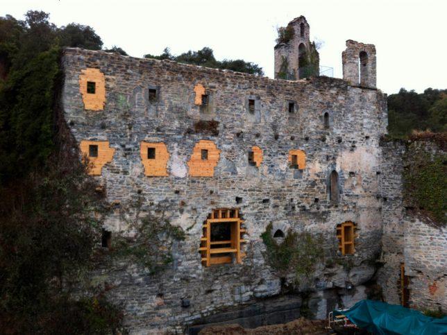 Restauration de ruines Santa Catalina de Badaya