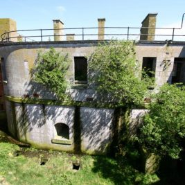 Stack Rock Fort lieu abandonné 11