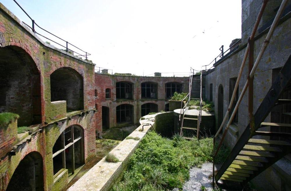 Stack Rock Fort lieu abandonné 7