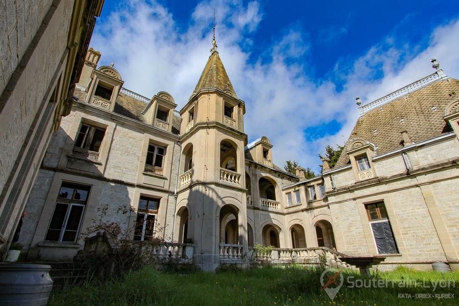 Château Bambi chateau abandonné urbex-10