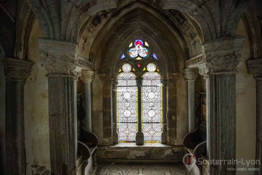 cloitre et chapelle abandonné 9