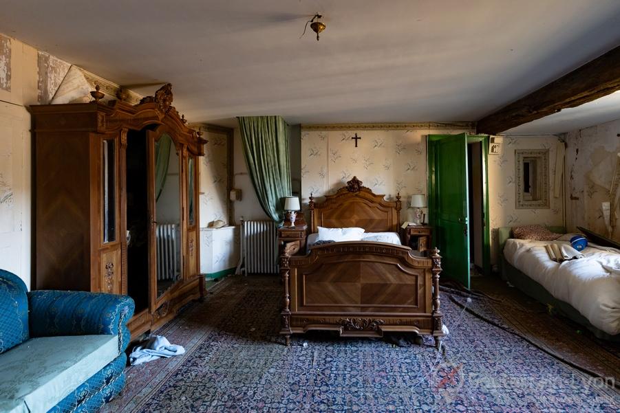 chambre chateau abandonné urbex